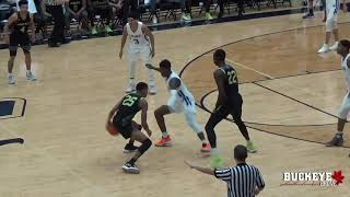 Nimari Burnett pours 34 points against LaMelo Ball and Spire at Flyin' to the Hoop