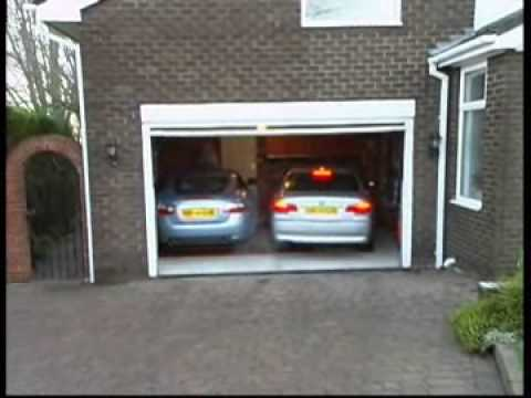 Park and slide youtube for How big is two car garage