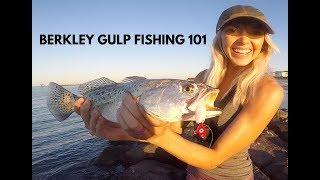 How to Fish a Berkley GULP! | Saltwater Fishing HOW TO