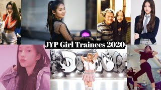 JYP Girl Trainees 2020