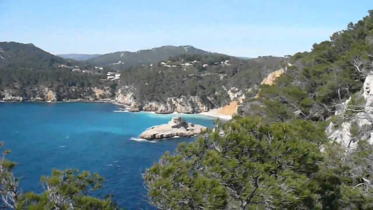 Eau turquoise au port d 39 youtube - Camping port d alon saint cyr sur mer ...