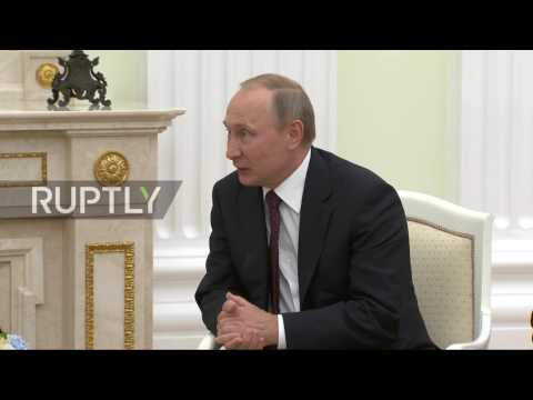 Russia: Slovakia PM calls for normalising of EU-Russia trade relations during Putin meeting