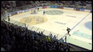 Jubel i SE Arena over SønderjyskE scorer i fodbold