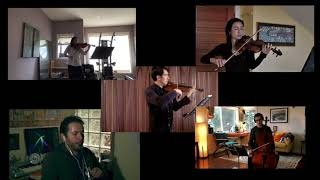 'Virtual' Mozart Clarinet Quintet with San Francisco Opera Orchestra musicians. (excerpt)