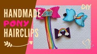 Rainbow Dash Hair accessories | DIY bow tutorial
