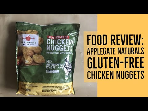 Applegate Naturals Gluten Free Chicken Nuggets Food Review