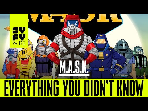 WATCH: Everything you didn't know about M.A.S.K.