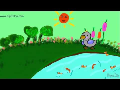 Hoạt hình Chuyện chú vịt xám_Cartoon Stories For Kids_Duck