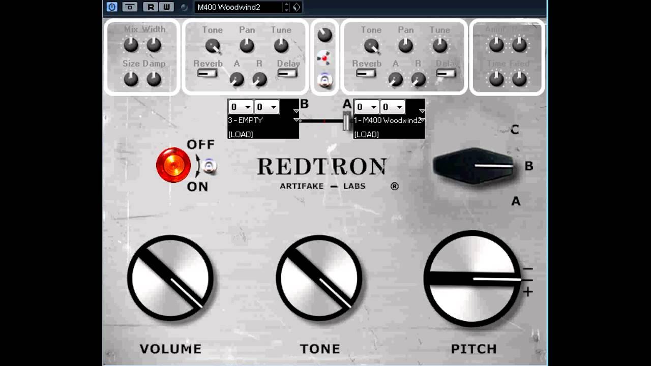 Free VST - RedTron_SE mellotron synth - vstplanet com