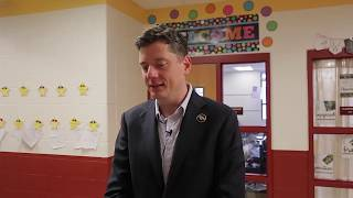 Mayor on reading mission
