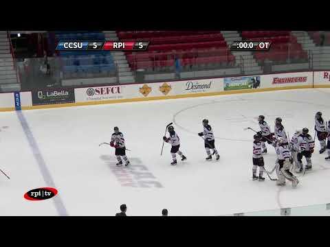 RPI ACHA Hockey Vs Central Connecticut State University