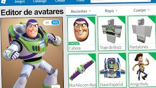 We created the PROFILE of BUZZ LIGHTYEAR in ROBLOX !! | Rovi23 Roblox