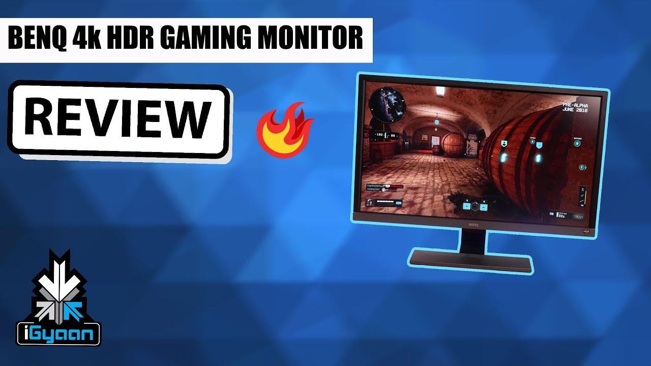 BenQ EL2870U 28 inch UHD 4K HDR Gaming Monitor Review