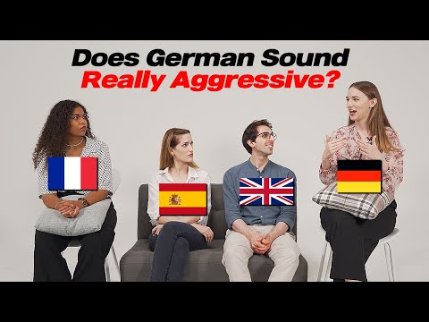 Download Does German Sound Aggressive? We Compare Words in 4 Languages!!