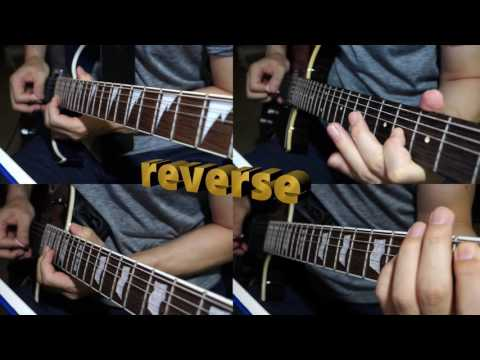 METALLICA ㅣ Blackened Intro ㅣ forward and reverse ㅣ cover