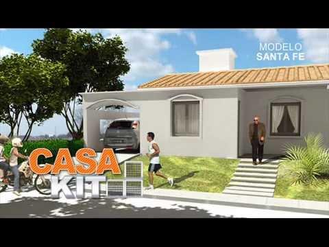 Casa kit modelos 2 y 3 dormitorios youtube for Modelos de casas de 3 dormitorios