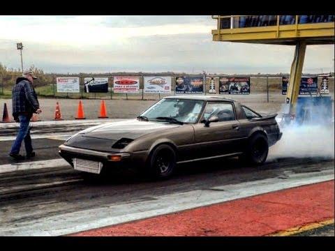 10-second rx7 street car