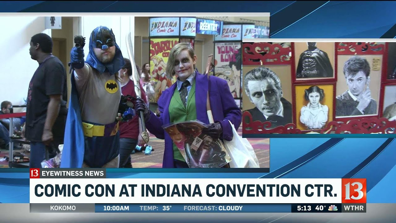 Indiana Comic Con this weekend