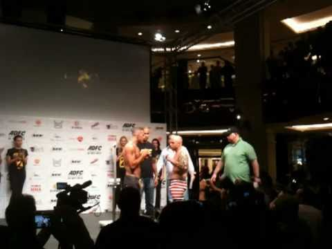 Abdallah Abou Hamdan Weighing in at ADFC Round 2