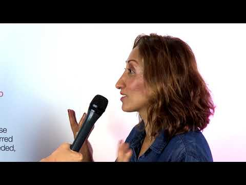 Shazia Mirza interview | Survivors' Runway fashion show | ActionAid UK