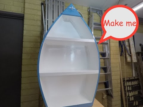 Make your own Boat Shelf