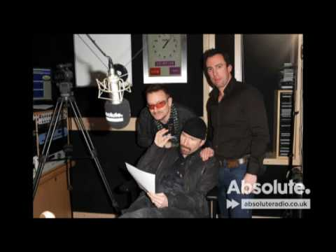 Bono and the Edge talk to Absolute Radio
