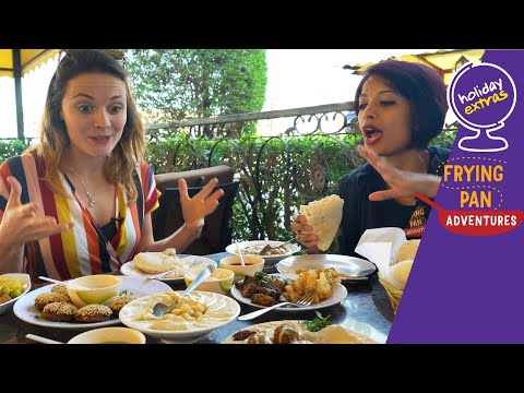 The best DUBAI FOOD TOUR | Dubai street food