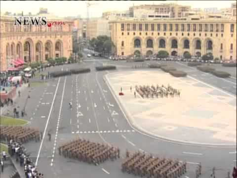 Independence Day  Armenia  Parade On September 21