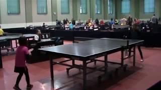 настольный теннис Жолква LIRS OPEN 2018 игра 3