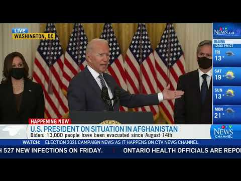 Biden questioned over Afghanistan evacuation