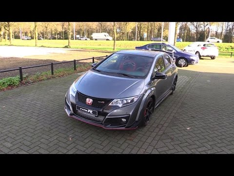Honda Civic Type R 2016 Start Up, Exhaust Sound, In Depth Review Interior Exterior