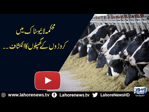 Live Stock & Dairy Development Dept. gets exposed for embezzlement of Rs. 47 crore
