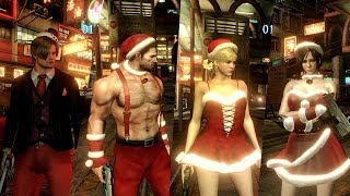 Mod Showcase #43 - Resident Evil 6 - Christmas outfits by blabit and arch