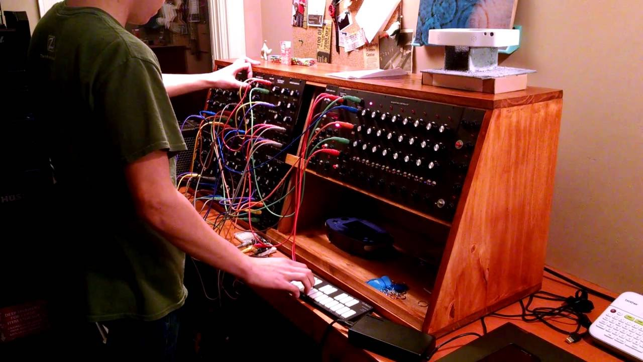 baba o 39 riley modular synthesizer cover youtube. Black Bedroom Furniture Sets. Home Design Ideas