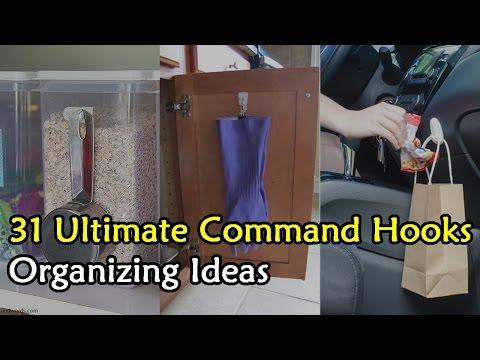 31 Ultimate Command Hooks Organizing Ideas Compilation