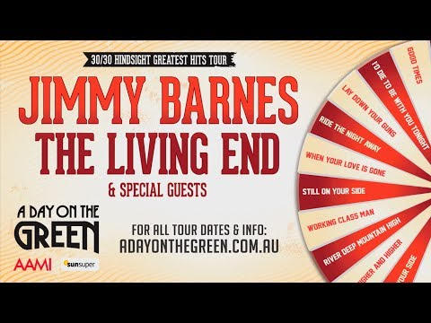 Jimmy Barnes - 30th Anniversary Tour