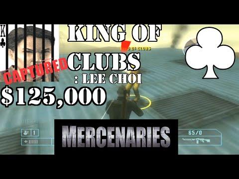King of Clubs Mercenaries POD
