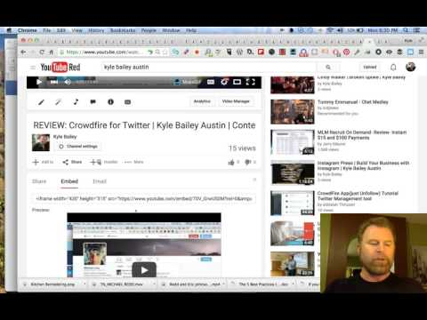 How To Embed A Correctly Optimized Youtube Video On Mobile   Kyle Bailey Austin