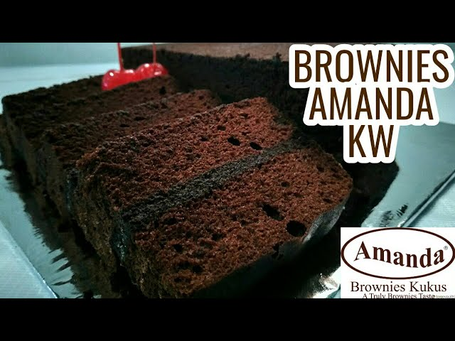 BROWNIES AMANDA KW|BOLU KUKUS AMANDA| RASANYA GK KALAH SAMA ASLINYA