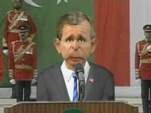 Bush and Musharraf Talks