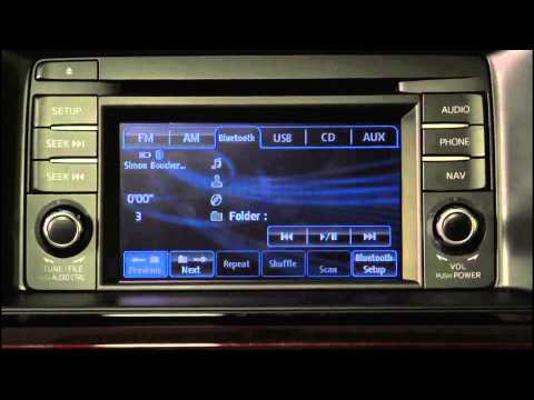 How To Stream music via Bluetooth via USB for iPod or USB memory in the Mazda CX-5, CX-9 & Mazda 6