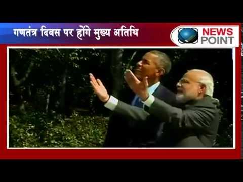 US President Barack Obama accepts PM Modi's invite to attend Republic Day celebrations