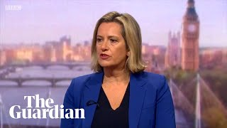 Rudd explains why she quit Boris Johnson's cabinet
