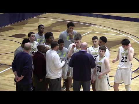 VFMA Varsity Basketball vs Delaware County Christian School - 2.5.19