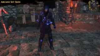 Path of Exile - Arcane Armour Set Skins