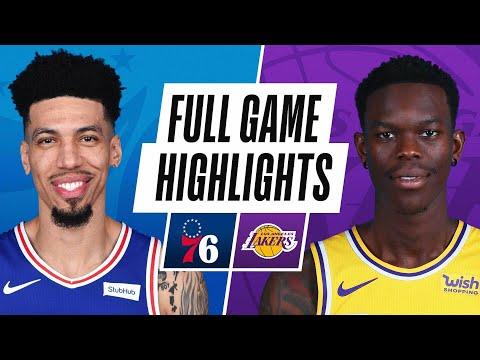 GAME RECAP: 76ers 109, Lakers 101