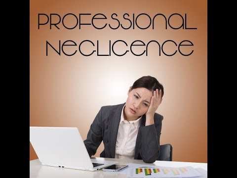 Colin Nasir: Professional Negligence