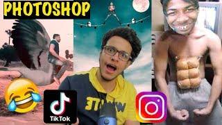 TikTok Instagram ke Photoshop Cartoons😂😂