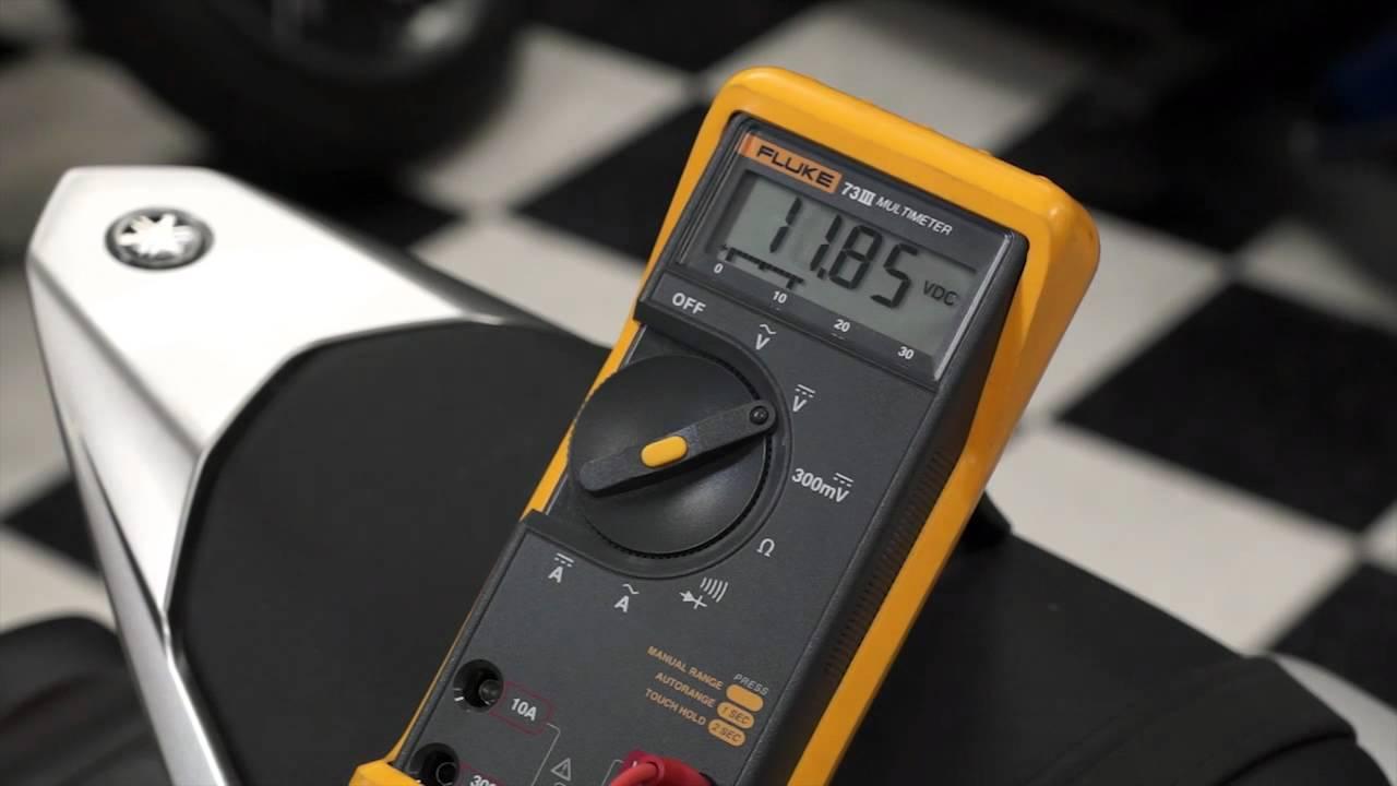 Yamaha Fuel Injector Testing on