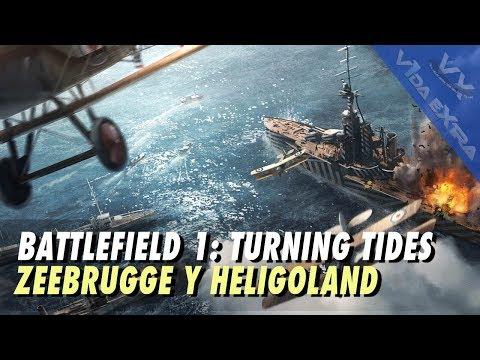 Battlefield 1 - 90 minutos de Zeebrugge y Bahía Heligoland